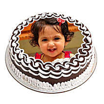 Chocolate Photo Cake: Send Personalised Gifts for Kids