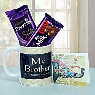 Chocolate Treat For Brother: Send Bhai Dooj Gifts to Ranchi