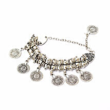 Chunky Coin Bracelet: Women's Accessories