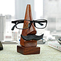 Classic Wooden Eye Glass Holder: Anniversary Gifts for Parents