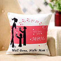 Comforting Personalised Cushion For Mom: Send Home Decor to Noida
