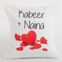 Couple Love Forever Personalized Cushion: Cushions