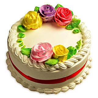 Creamy French Vanilla Cake: Vanilla Cakes