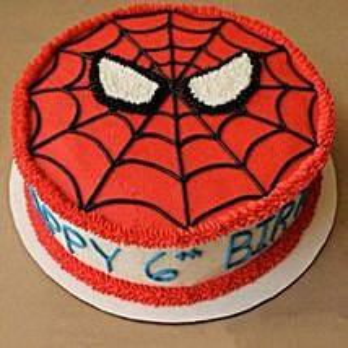 Creamy Spiderman Treat Cake: Cakes to Tirur