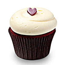 Cute Red Velvet Cupcakes: Cup Cakes to Ghaziabad
