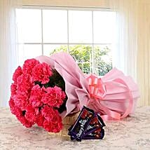 Dazzling Combo: Send Flowers and Chocolates