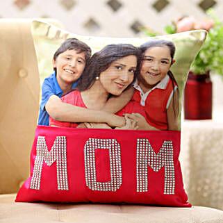Dazzling Mom Cushion: Personalised Cushions Chennai