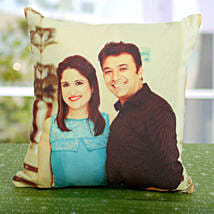 Double Sided Printed Personalized Cushion: Birthday Gifts for Husband