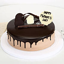 Eggless Mothers Day Chocolate Cake: Cake Delivery in Katni