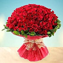 Treasured Love- 200 Red Roses Bouquet: Valentine Gifts for Wife