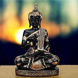 Exquisite Buddha Idol: Send Spiritual Gifts for Bhai Dooj