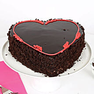 Fabulous Heart Cake: Valentines Day Cakes Patna