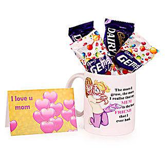 Fabulous Mom Mug: Send Thank You Chocolates