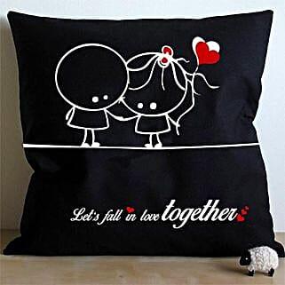 Falling In Love Cushion: Send Home Decor to Bengaluru