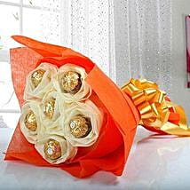 Ferrero Rocher Bouquet: Send Bhai Dooj Chocolates
