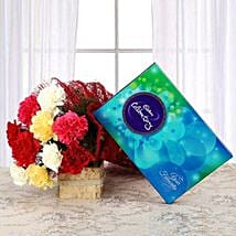 Flavourful Rainbow: Flowers & Chocolates for Him