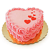 Floating Hearts Cake: Send Valentines Day Cakes to Patna