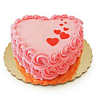 Floating Hearts Cake: Designer cakes for anniversary