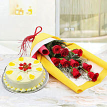 Floral Array of Hues: Flowers & Cakes for Womens Day