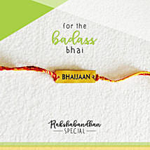 For Your Bhaijaan Quirky Rakhi & Card: Rakhi Gifts to Gurgaon