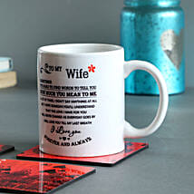 Forever & Always Printed Mug: Gifts for Wife