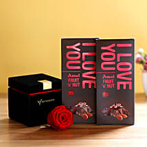 Forever Red Rose & Amul Chocolates: Send Flowers to Mandi