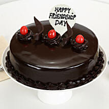 Friendship Day - Truffle Cake: Friendship Day Gifts Shopping