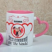 Full Of Love Personalized Mug: Gifts for Mother