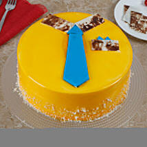 Funky And Delicious Mango Cake For Dad: Send Mango Cakes to Gurgaon