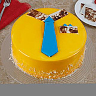 Funky And Delicious Mango Cake For Dad: Send Mango Cakes to Kolkata