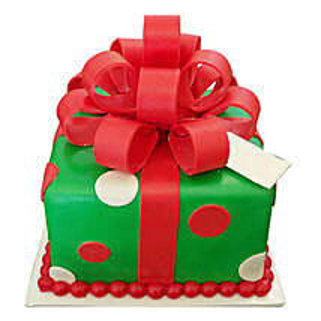 Gift Box Christmas Cake: Christmas Gifts for Friend