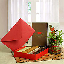 Good Luck with Assorted Sweets: Fathers Day Gift Hampers