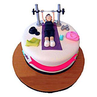 Gym Cake: Designer Birthday Cakes