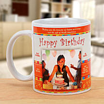 Happy Bday Personalized Mug: Gift Delivery in Fazilka