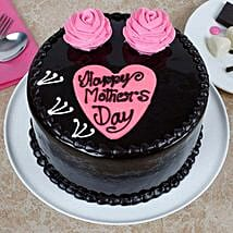 Happy Mothers Day Chocolate Cake: Bengaluru Mother's Day gifts