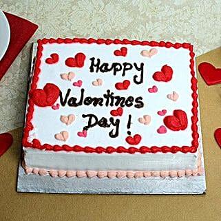 Happy Valentines Day Cake: Cakes to Kuttipuram