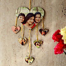 Heartshaped Personalized Wall Hanging: