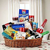 Hearty Sweet and Savory Basket: Send Gift Baskets