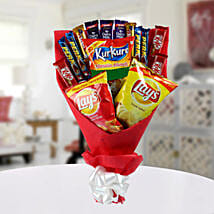High on Snack Bouquet: Mothers Day Chocolate Bouquet