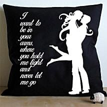 Hug Me Cushion: Home Decor Anniversary Gifts