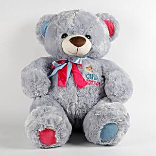 Large Teddy Bear Blue: Soft Toys for Birthday