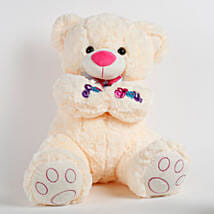 Large Teddy Bear For You Cream: Soft Toys Gifts