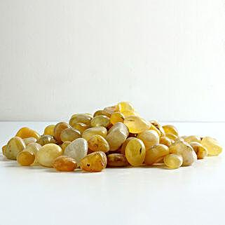 Lemon Onyx Pebbles 10 To 15 mm: Gardening Pebbles