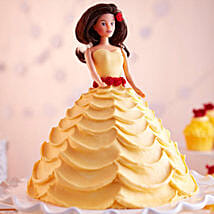 Lovely Barbie Cake: