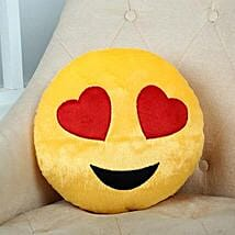 Lovely Hearts Yellow Cushion: Send Soft Toys