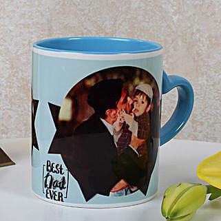 Lovely Personalized Blue Mug: Personalised Mugs