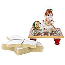 Marble Bal Krishna Combo: Handicrafts to Lucknow