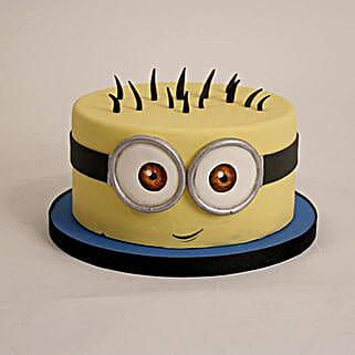 Minion Cartoon Cake:
