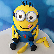 Minion with Bananas Cake: Birthday Cakes for Kids