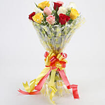 Marvellous Bouquet Of Roses: Send New Year Gifts